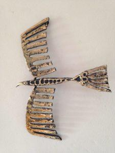 Indian Hawk Sculpture