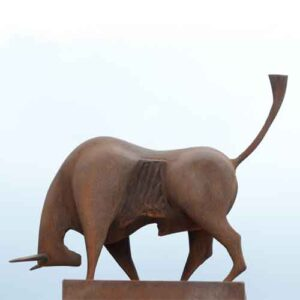 Home bull Sculpture