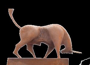 Bull Sculpture logo