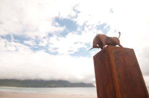 Precipice Sculpture corten steel