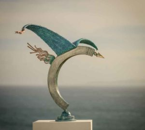 Cormorant Sculpture