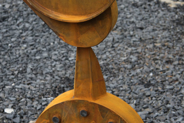 Harpo Sculpture corten steel