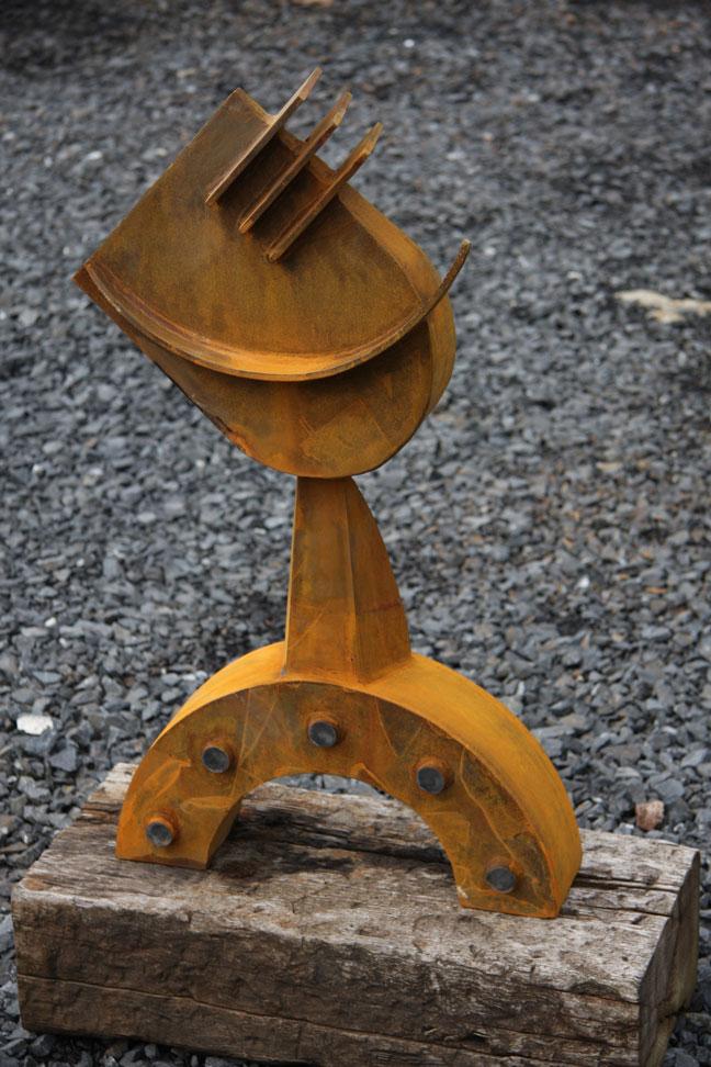 Harpo Sculpture corten steel