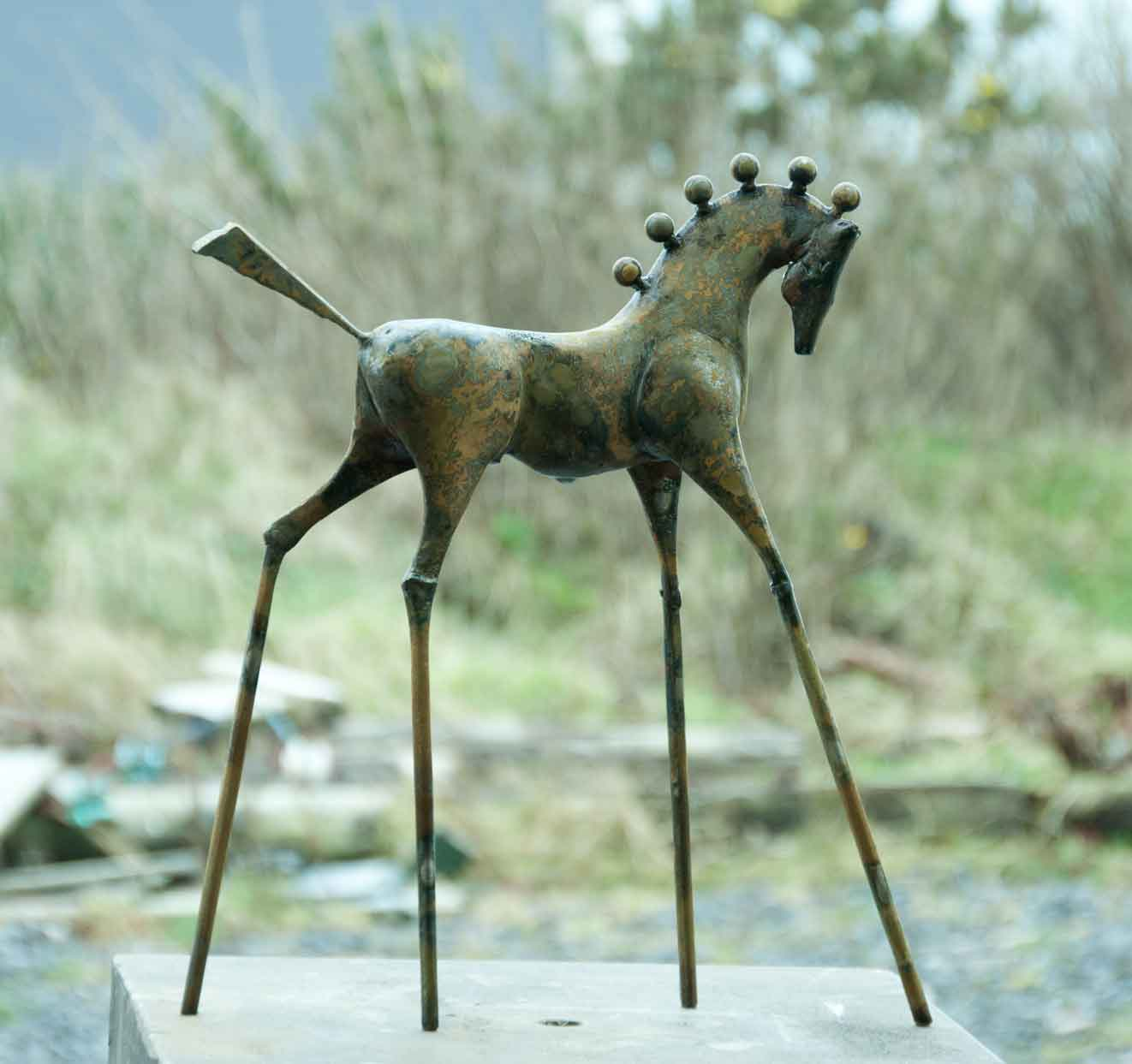 Spirit horse steel Sculpture